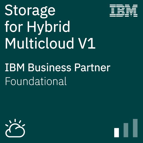 IBM Systems Business Partner Storage for Hybrid Multicloud V1