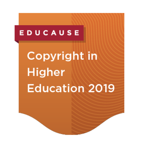 Copyright in Higher Education 2019