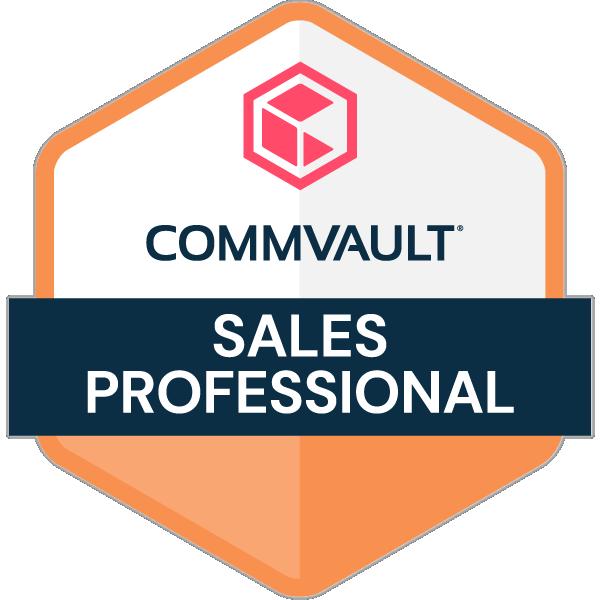Commvault Sales Professional