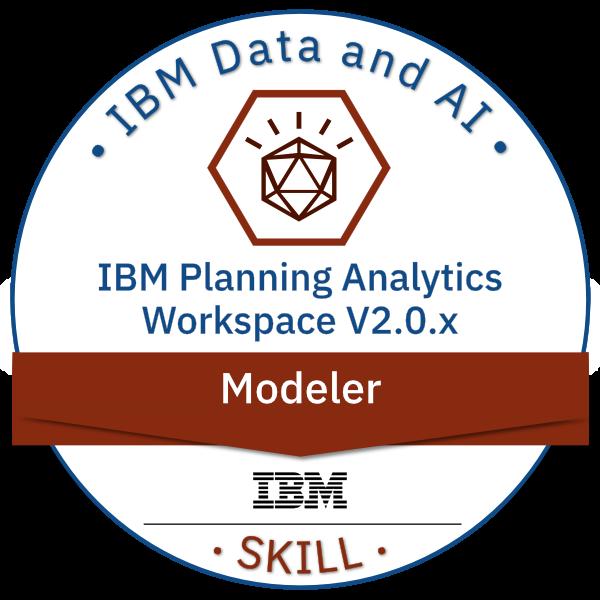 IBM Planning Analytics Workspace V2.0.x Modeler