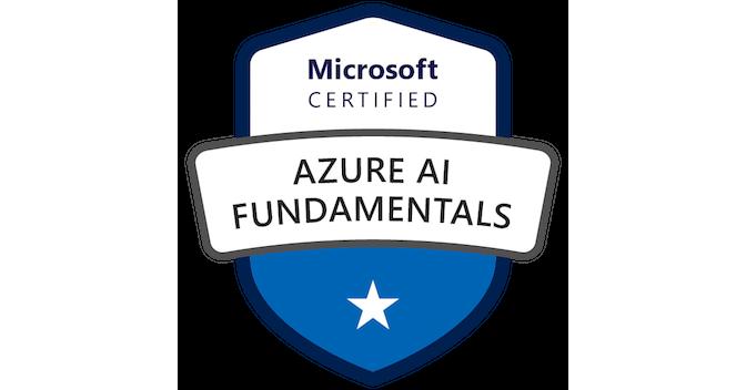 Microsoft Certified: Azure AI Fundamentals - Credly