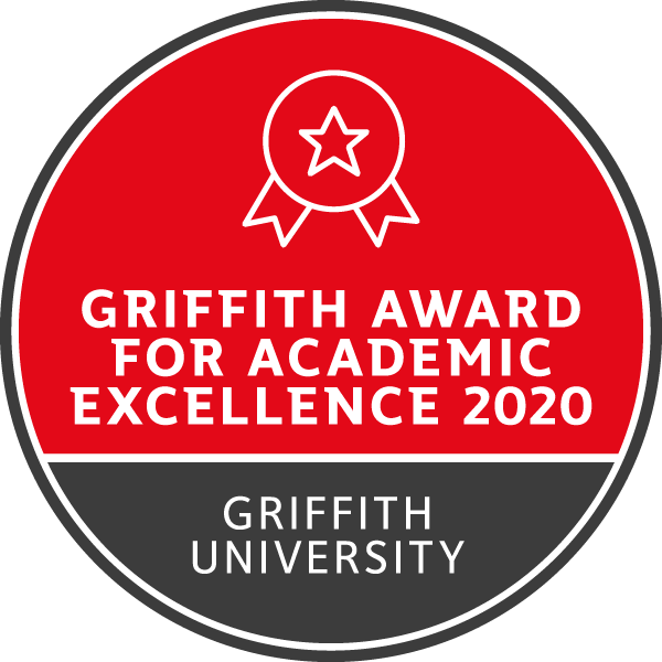Griffith Award for Academic Excellence - 2020