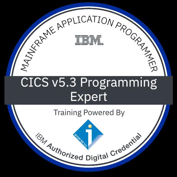 Interskill - Mainframe Application Programmer - CICS v5.3 Programming - Expert