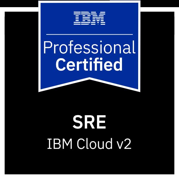 IBM Certified Professional SRE - Cloud v2
