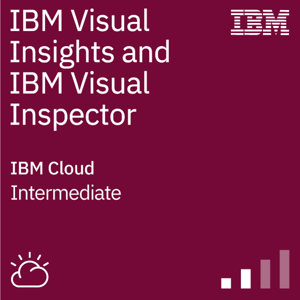 IBM Visual Insights and IBM Visual Inspector