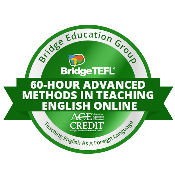 60-Hour Specialized Certificate in Advanced Methods in Teaching English Online