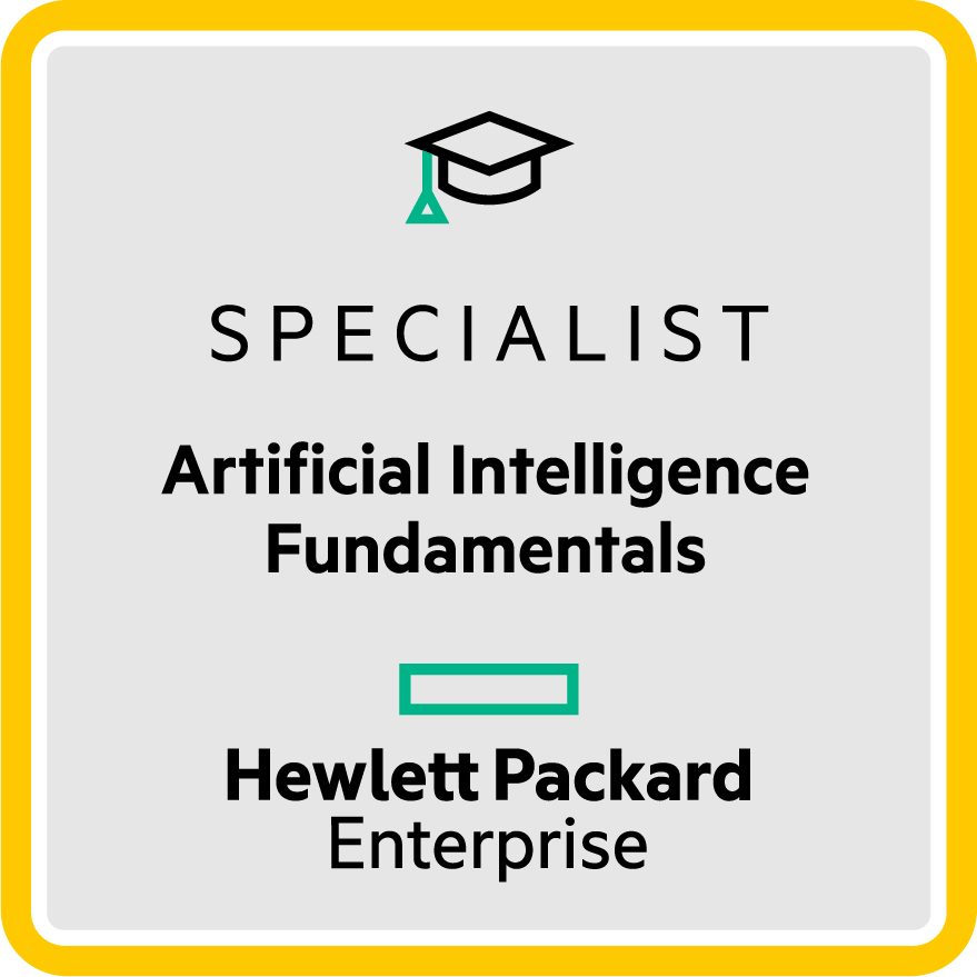 HPE Specialist - Artificial Intelligence Fundamentals