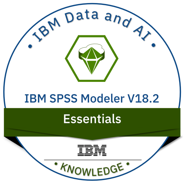 IBM SPSS Modeler V18.2.x Essentials