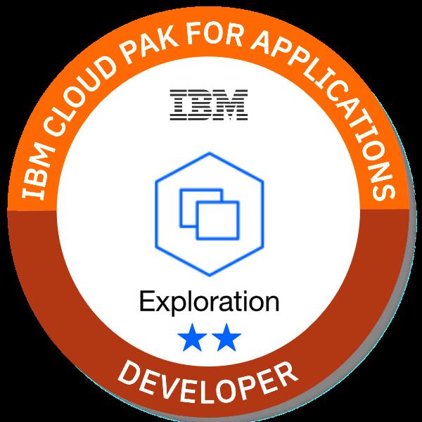 IBM Cloud Pak for Applications - Developer (Exploration **)