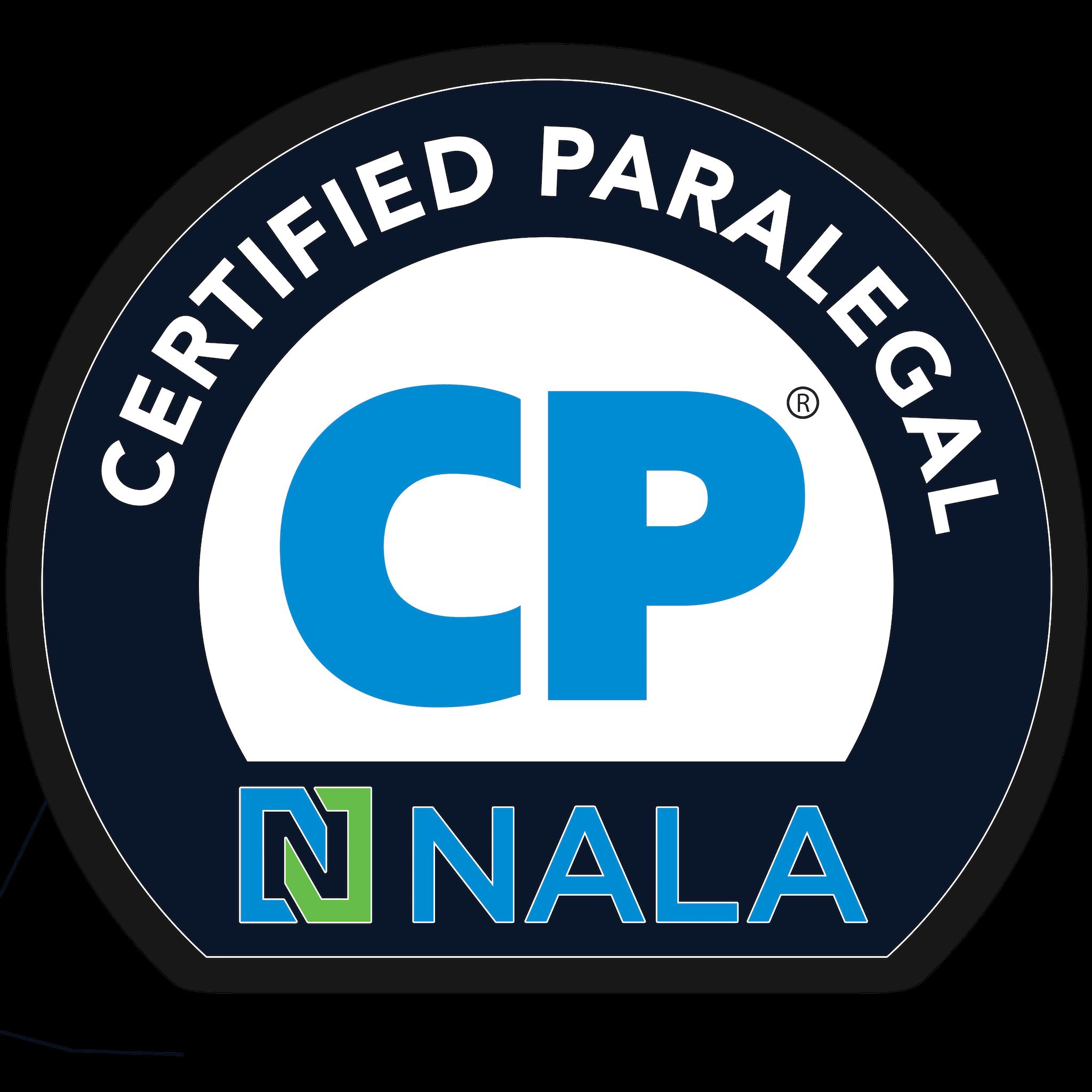NALA Certified Paralegal