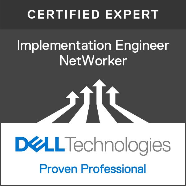 Expert - Implementation Engineer, NetWorker Version 7.0