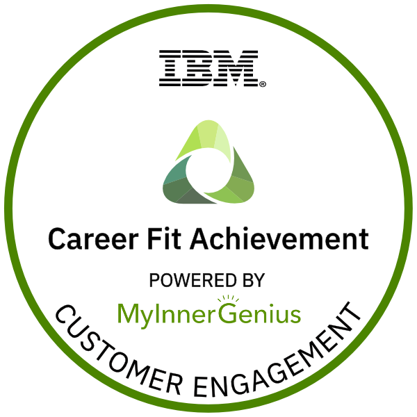 Customer Engagement Career Fit Achievement