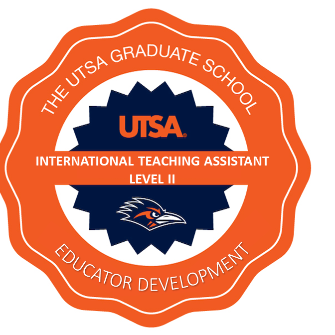 EDUCATOR DEVELOPMENT: Level II International Teaching Assistant