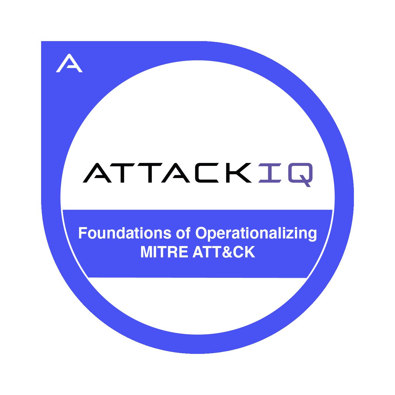 Foundations of Operationalizing MITRE ATT&CK
