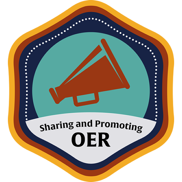 Sharing and Promoting OER Community Course