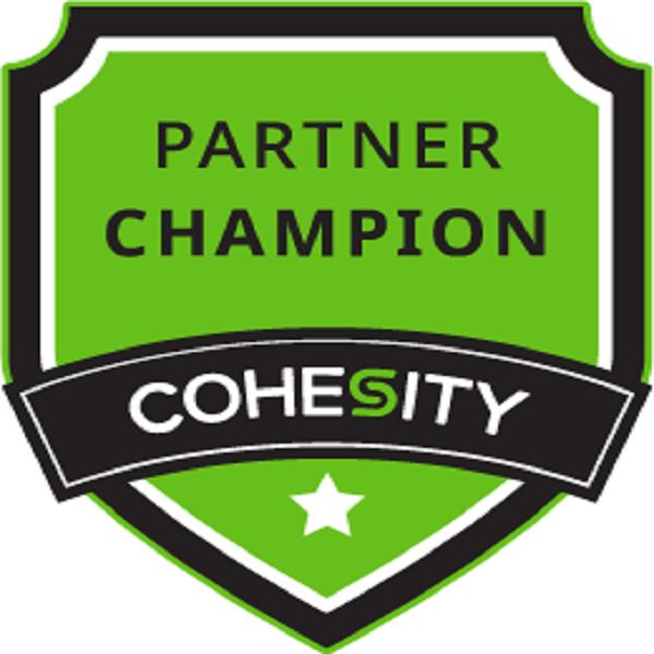 Cohesity Partner Champion – Level 1