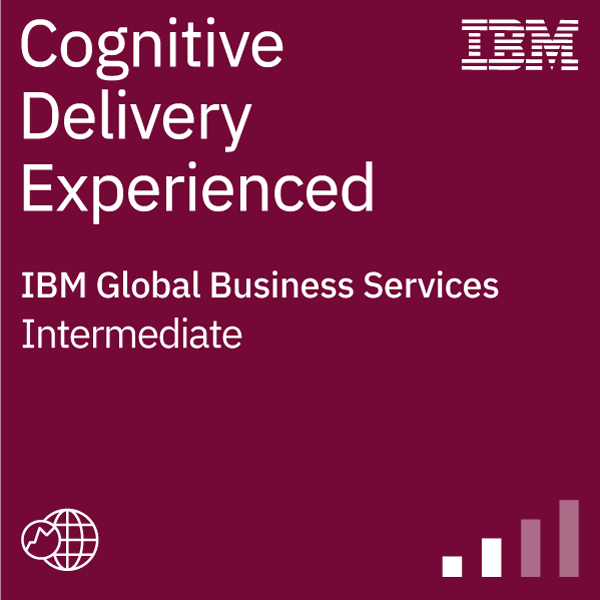 Cognitive Delivery Experienced