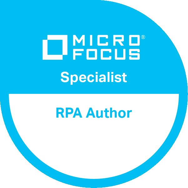 Robotic Process Automation Author Specialist