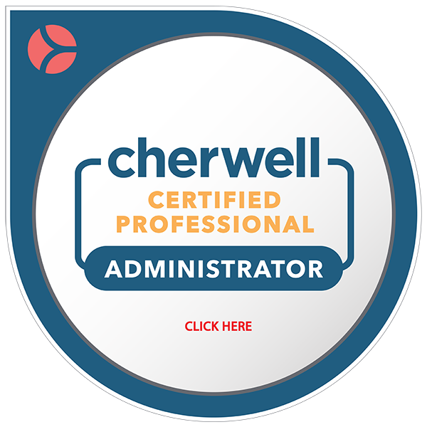Cherwell Certified Professional Administrator
