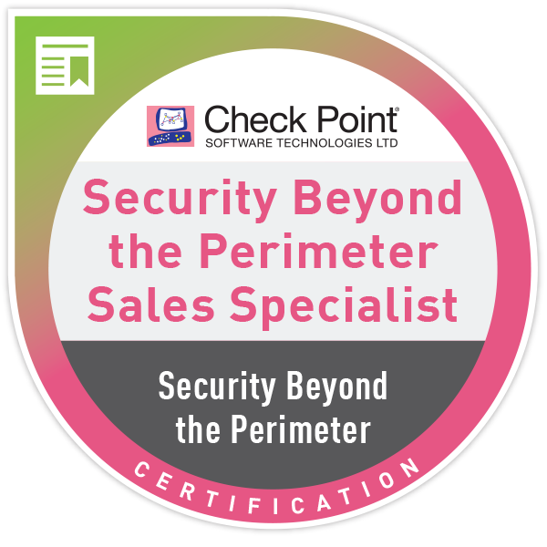 Security Beyond the Perimeter – Sales Certification