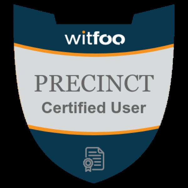 Precinct Certified User