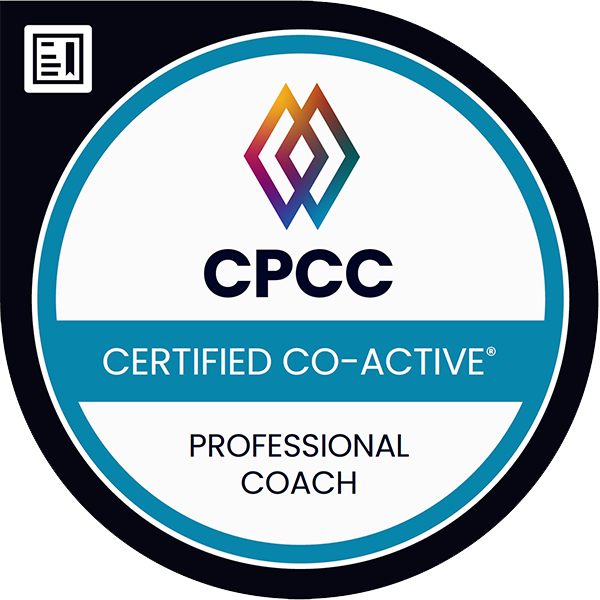 Certified Professional Co-Active Coach (CPCC)