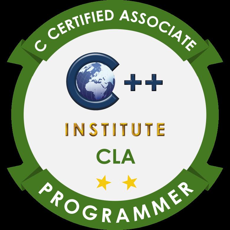 [CLA-11-02] CLA – C Certified Associate Programmer