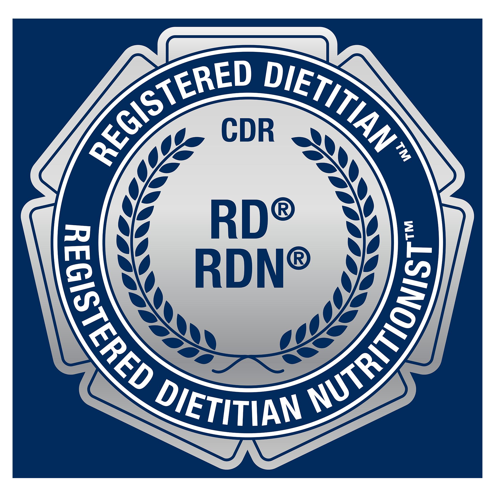 Registered Dietitian (RD) or Registered Dietitian Nutritionist (RDN)