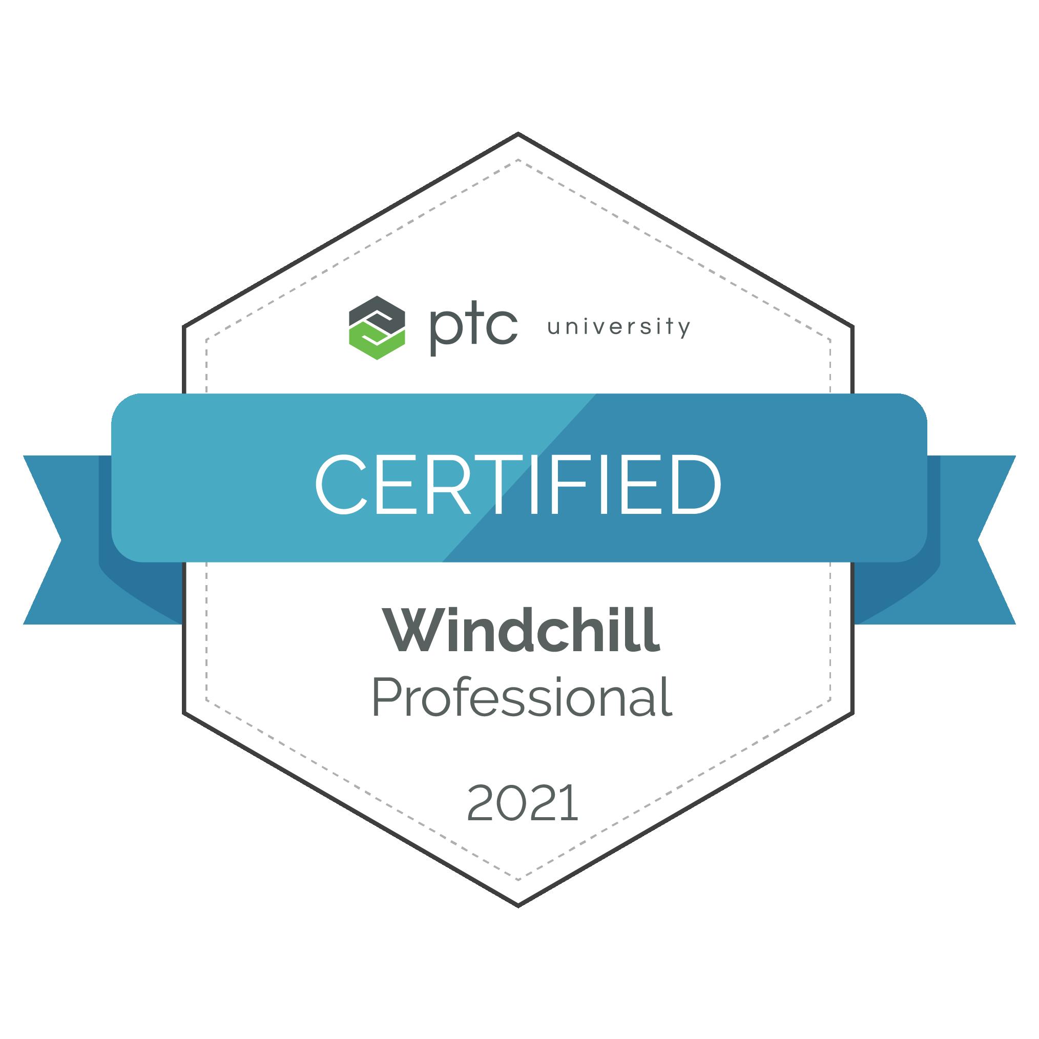 Windchill Professional Certification 2021
