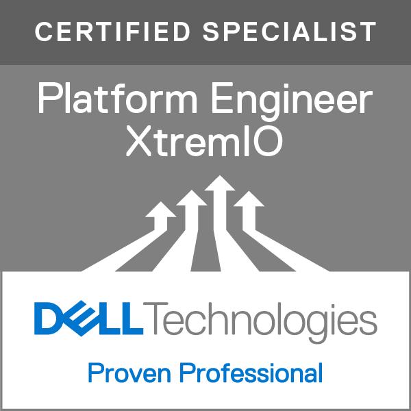 Specialist - Platform Engineer, XtremIO Version 2.0