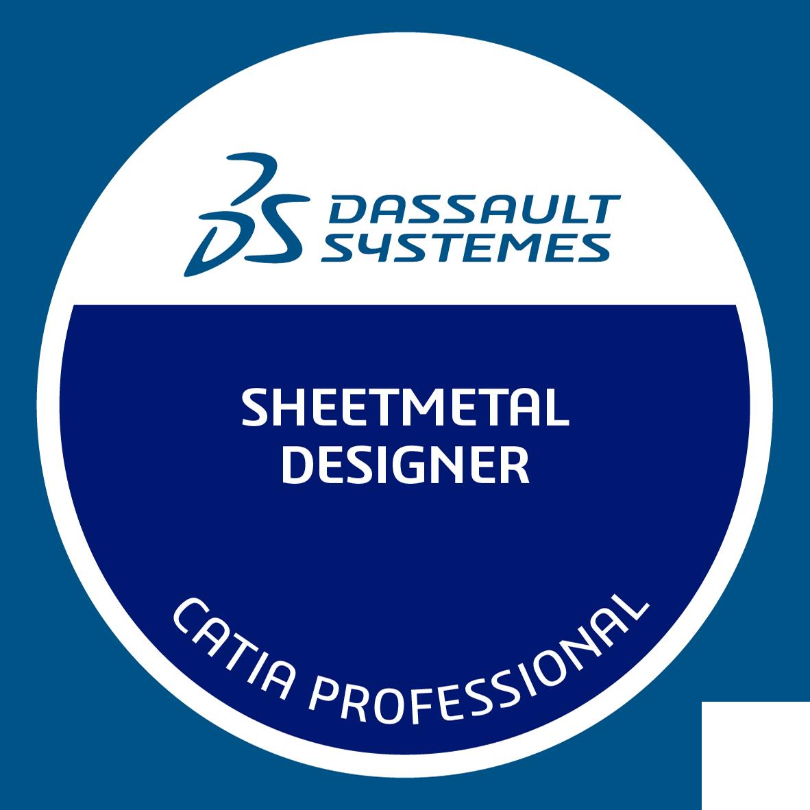 Certified 3DEXPERIENCE SheetMetal Designer Professional