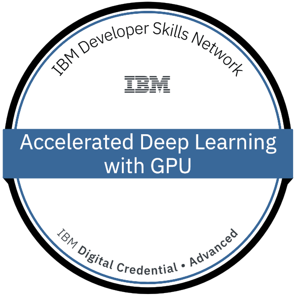 Accelerated Deep Learning with GPU