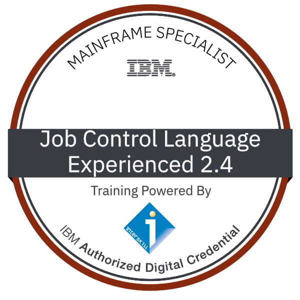 Interskill - Mainframe Specialist - Job Control Language – Experienced 2.4