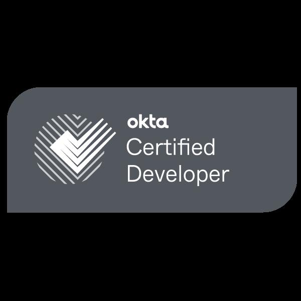 Okta Certified Developer