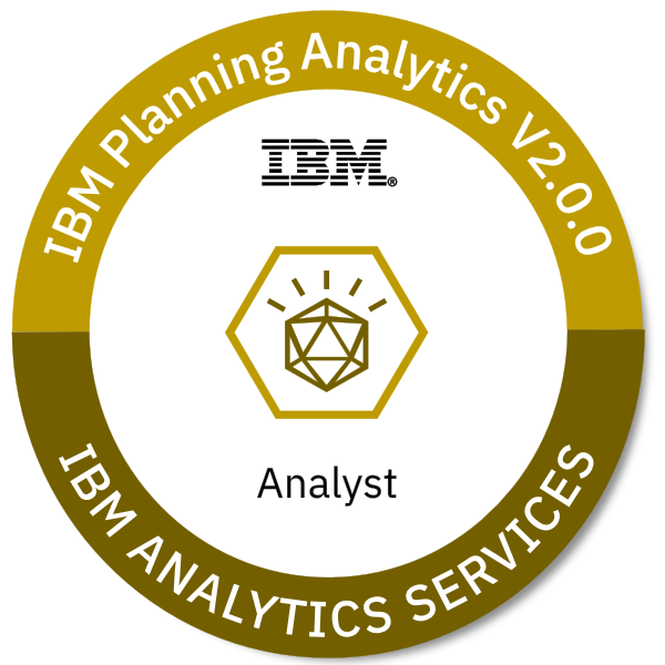 IBM Planning Analytics V2.0.0 Analyst