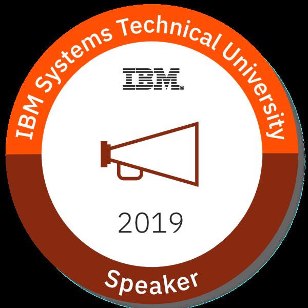 2019 IBM Systems Technical University Speaker