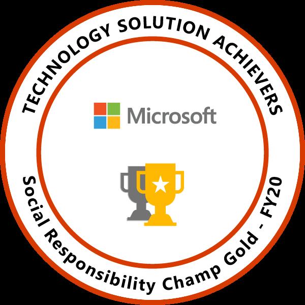 Social Responsibility Champ Gold