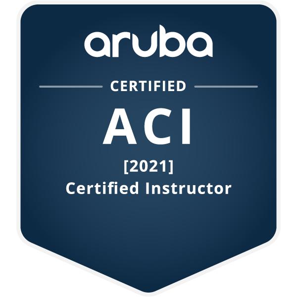 Aruba Certified Instructor [2021]
