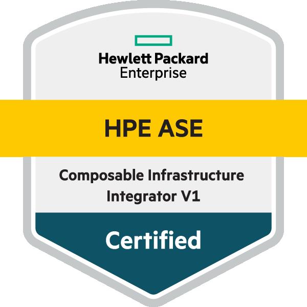 HPE ASE - Composable Infrastructure Integrator V1