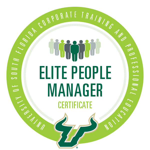 USF Elite People Manager Certificate