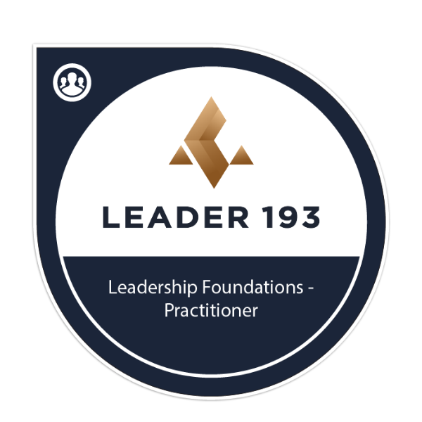 Leadership Foundations - Practitioner