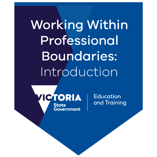 Professional boundaries and communication strategies in the community services sector