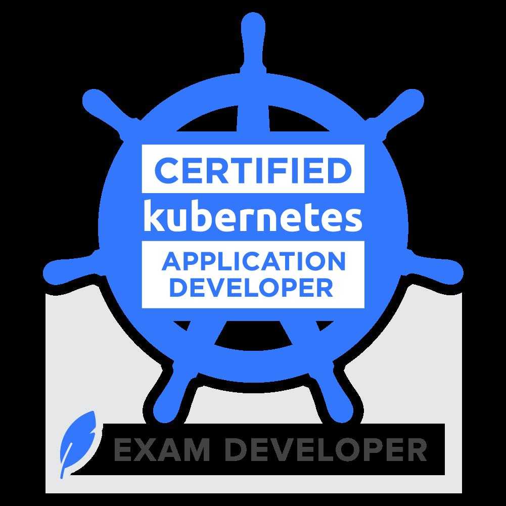 Exam Developer: Certified Kubernetes Application Developer