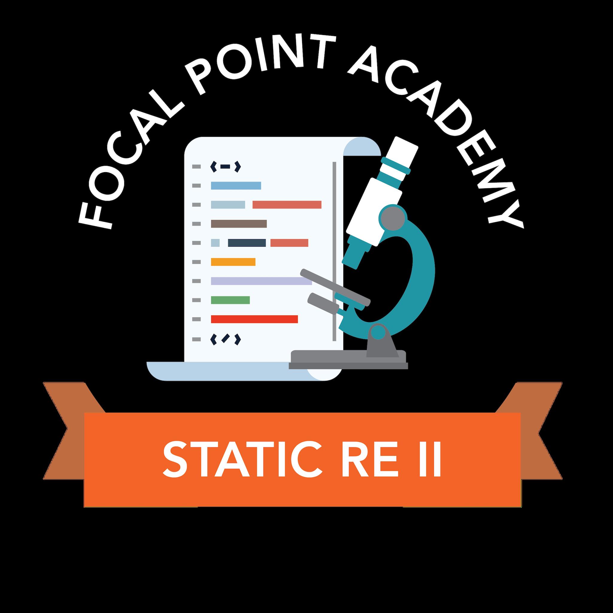 Static Reverse Engineering II