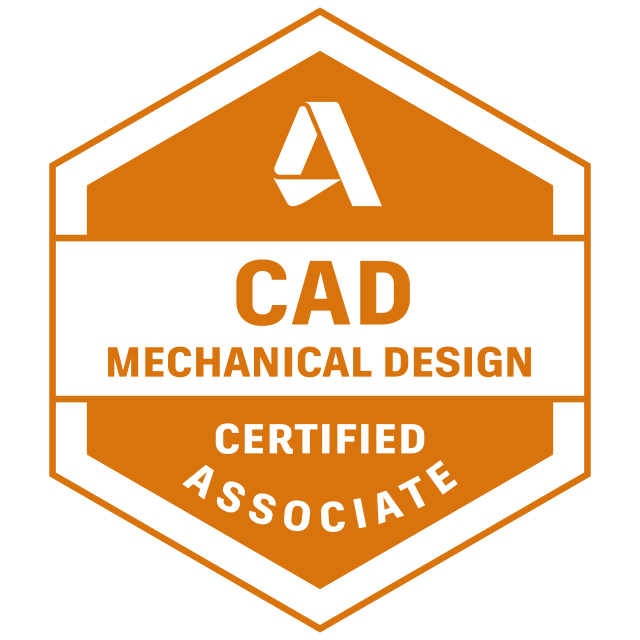 Autodesk Certified Associate in CAD for Mechanical Design