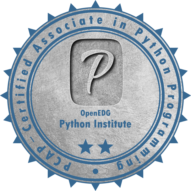 [PCAP-NP-31-02] PCAP – Certified Associate in Python Programming