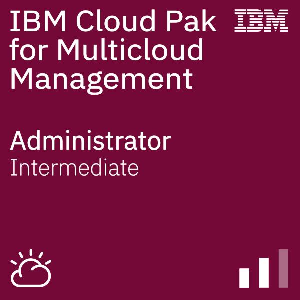 IBM Cloud Pak for Multicloud Management - Administrator