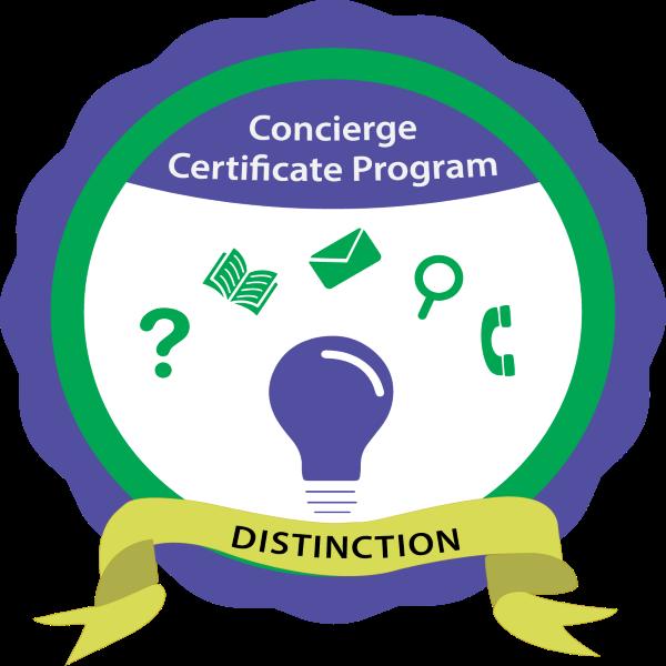 Online Student Concierge Certificate Program with Distinction