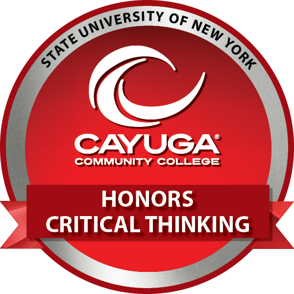 Honors Critical Thinking