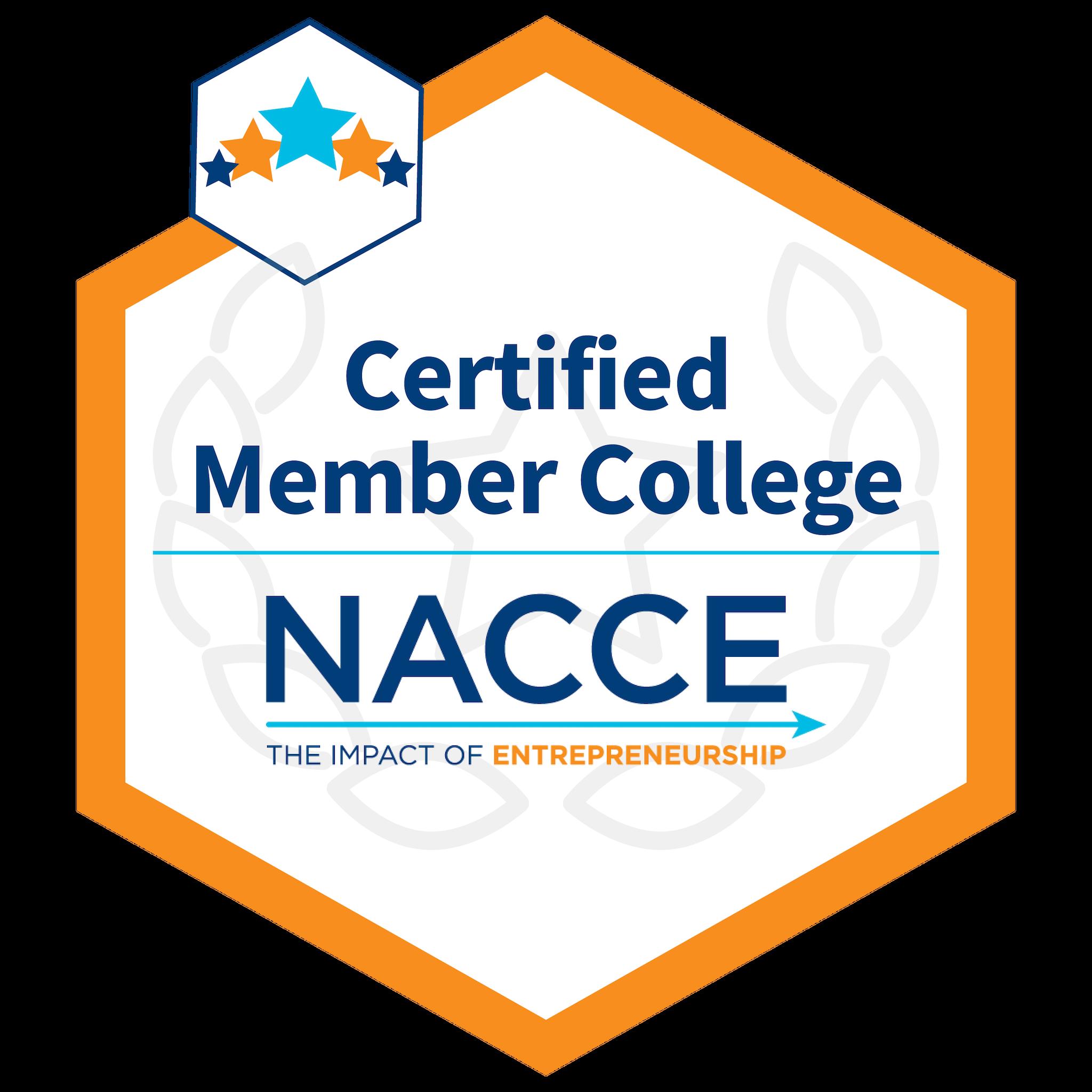 NACCE Certifed Member College